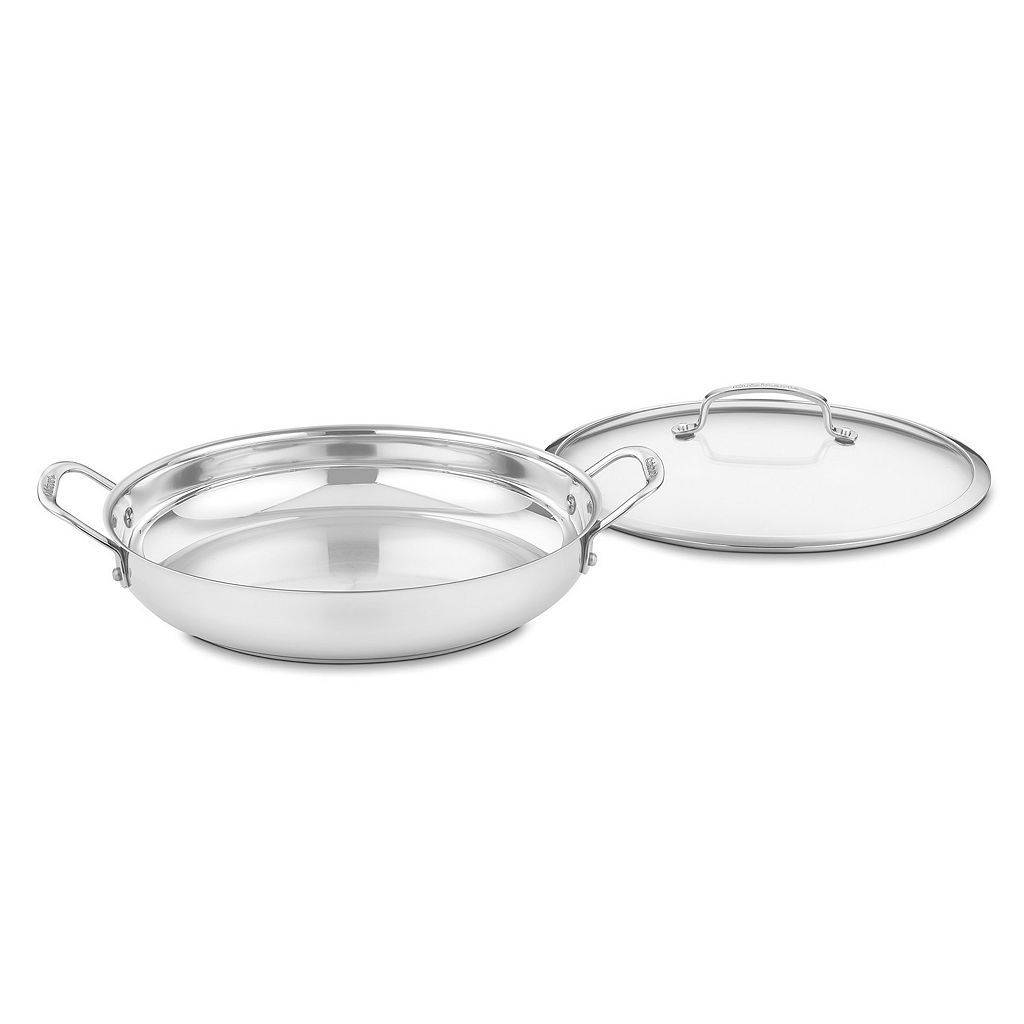 Cuisinart Contour 12-in. Stainless Steel Everyday Pan