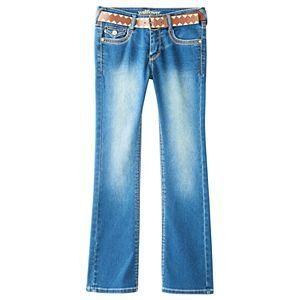 Girls 7-16 Wallflower Embellished Bootcut Jeans