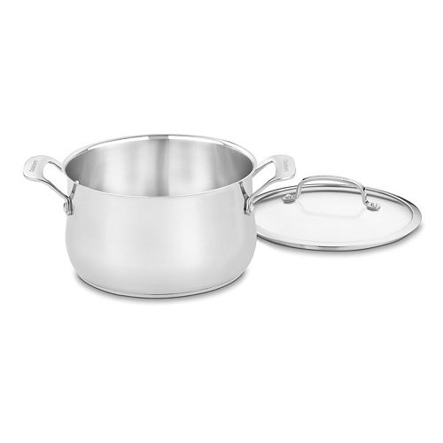 Cuisinart Contour 5-qt. Stainless Steel Dutch Oven