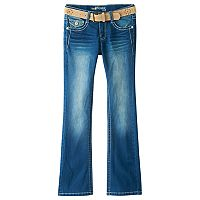 Girls 7-16 Wallflower Embroidered Bootcut Jeans