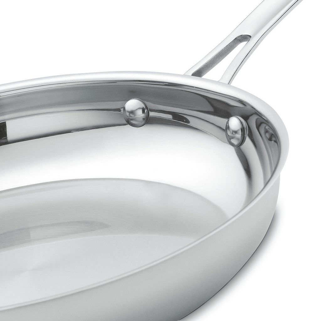 Cuisinart Contour 12-in. Stainless Steel Skillet