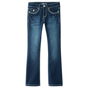 Girls 7-16 Wallflower Flap-Pocket Bootcut Jeans