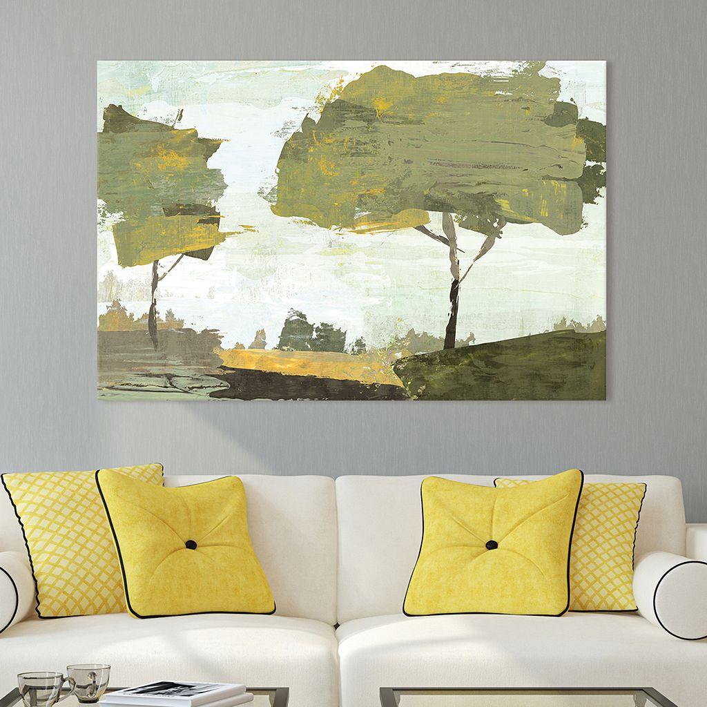 Artissimo Designs October Sun Canvas Wall Art