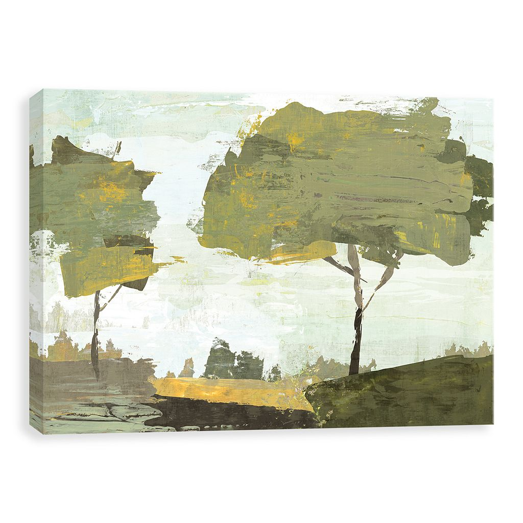 Artissimo Designs October Sun Canvas Wall Art