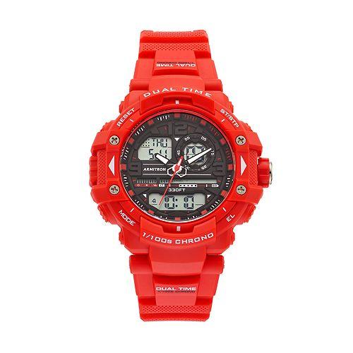 Armitron Unisex Analog-Digital Chronograph Sport Watch - 20/5062RDB