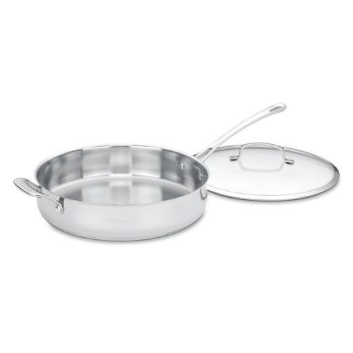 Cuisinart Contour 5-qt. Stainless Steel Saute Pan