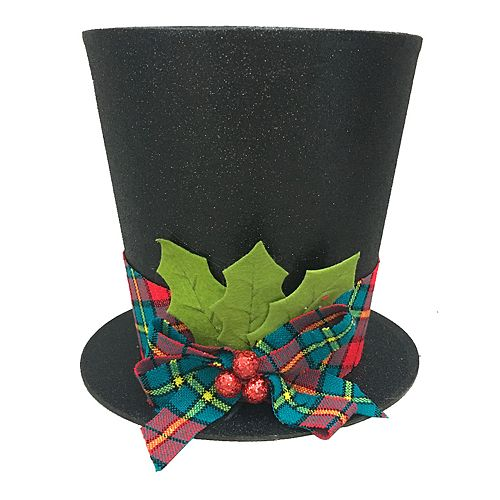 st nicholas square top hat christmas tree topper - Christmas Top Hat