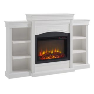 Altra Lamont 6-Shelf Electric Fireplace