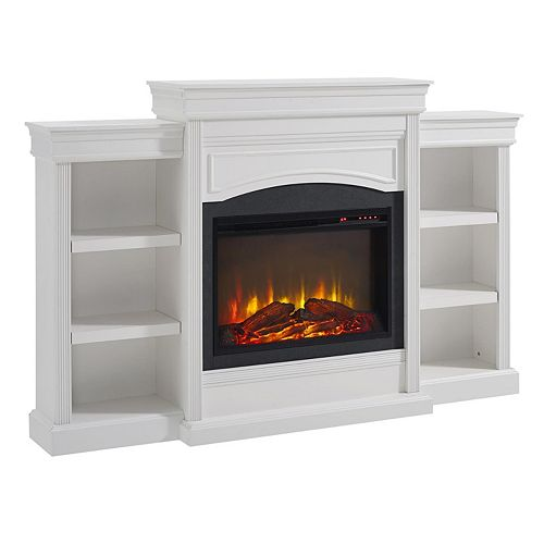 Altra Lamont 6-Shelf Electric Fireplace
