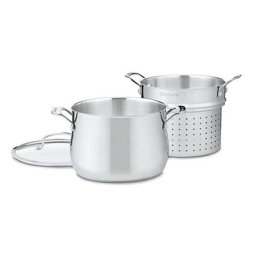 Cuisinart Contour 6-qt. Stainless Steel Pasta Steamer Set