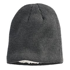 Men's Urban Pipeline® Solid Sherpa-Lined Beanie