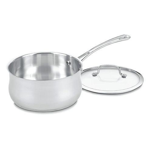 Cuisinart Contour 3-qt. Stainless Steel Saucepan