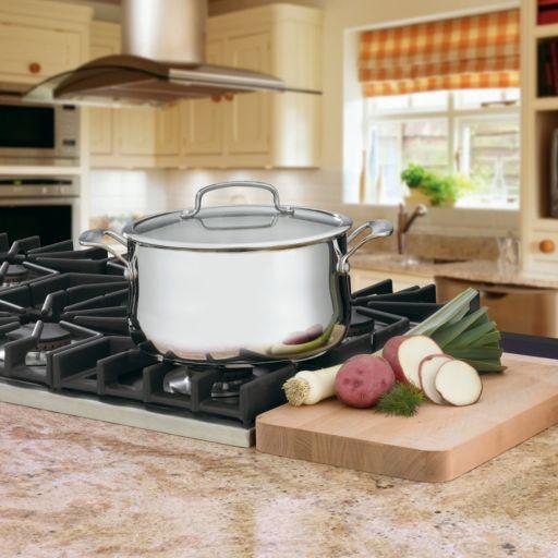 Cuisinart Contour 6-qt. Stainless Steel Saucepot