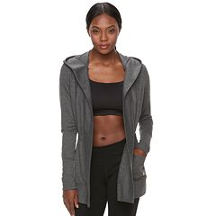 Women's Tek Gear® Cinched-Waist Hooded Wrap Top