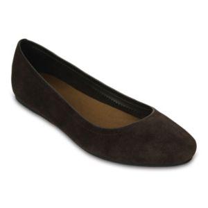 Crocs Lina Women's Suede Flats