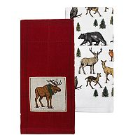 St. Nicholas Square® Moose Pack Kitchen Towel 2-pk.