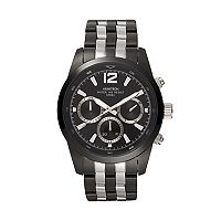 Armitron Men's Two Tone Stainless Steel Watch - 20/4991BKTB