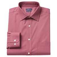 Men's Croft & Barrow® True Comfort Fitted Stretch Dress Shirt