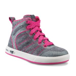 Skechers Shoutouts Glitzy Ritz Toddler Girls' High-Top Sneakers