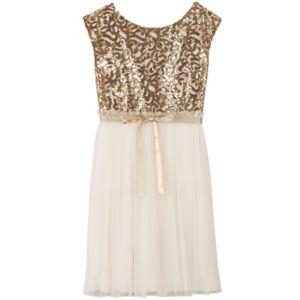 Girls Plus Size Speechless Embellished Sequin Body Dress