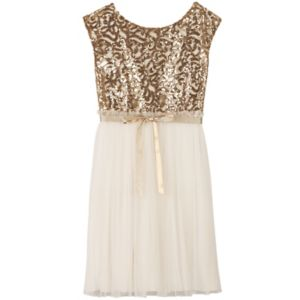 Girls 7-16 Speechless Embellished Sequin Body Dress