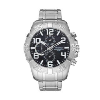 Armitron Men?s Stainless Steel Watch - 20/5168BKSV