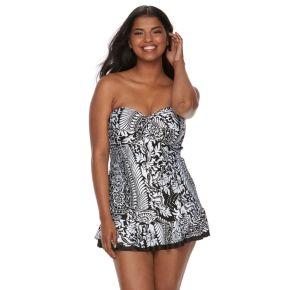 Plus Size Apt. 9® Bianca Swimdress