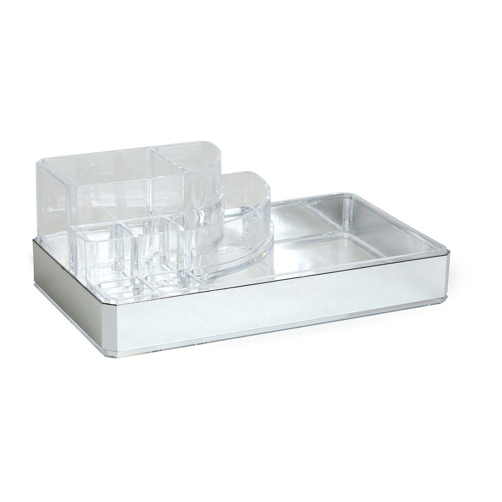 Simplify 8-Compartment Cosmetic & Jewelry Holder