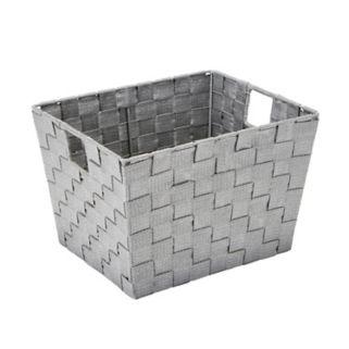 Simplify Striped Woven Storage Bin
