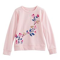 Girls 4-12 SONOMA Goods for Life™ Embellished Long-Sleeve Sweatshirt