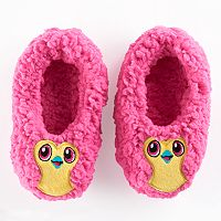 Girls 4-16 Hatchimals Fuzzy Slipper Socks