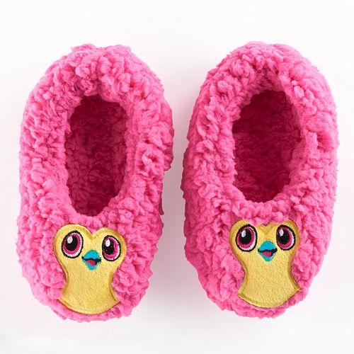 Girls 4-16 Hatchimals Fuzzy Slipper Socks