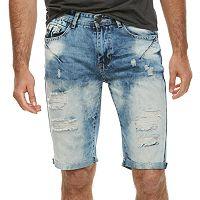 Men's XRAY Slim-Fit Distressed Stretch Denim Shorts
