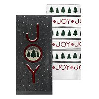 St. Nicholas Square® Joy Kitchen Towel 2-pk.