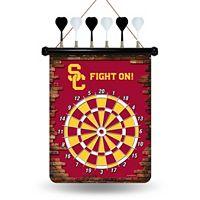 USC Trojans Magnetic Dart Board