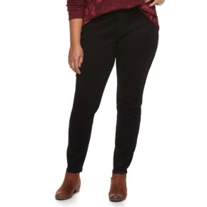 Plus Size SONOMA Goods for Life? Pull-on Skinny Jeans