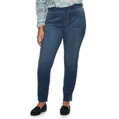Plus Size SONOMA Goods for Life™ Pull-on Skinny Jeans