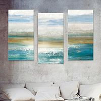 Artissimo Designs Beyond Dawn Canvas Wall Art 3-piece Set