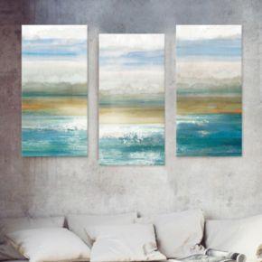 Artissimo Designs Beyond Dawn Canvas Wall Art 3-piece Set