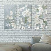 Artissimo Designs Spring Beautiful Canvas Wall Art 3 pc Set
