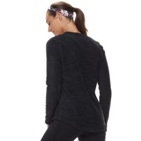 Women's Tek Gear® Microfleece V-neck Tee