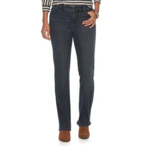 Women's Chaps Classic Fit Straight-Leg Jeans