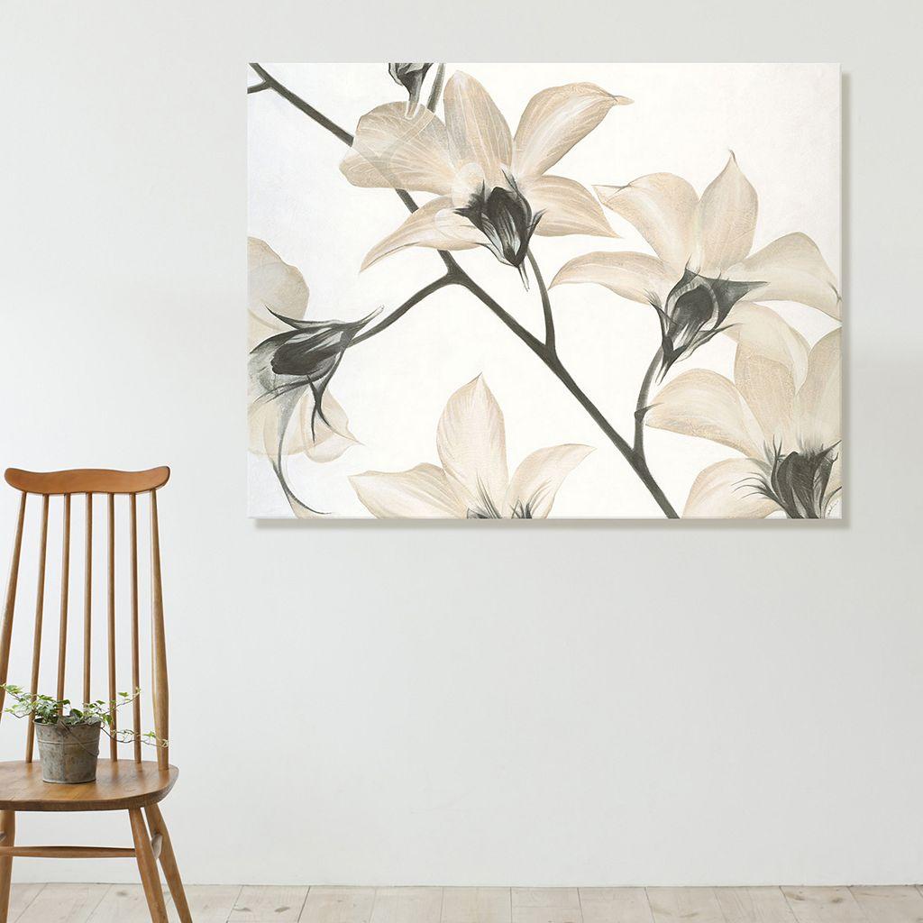Artissimo Designs Floral Strand Canvas Wall Art