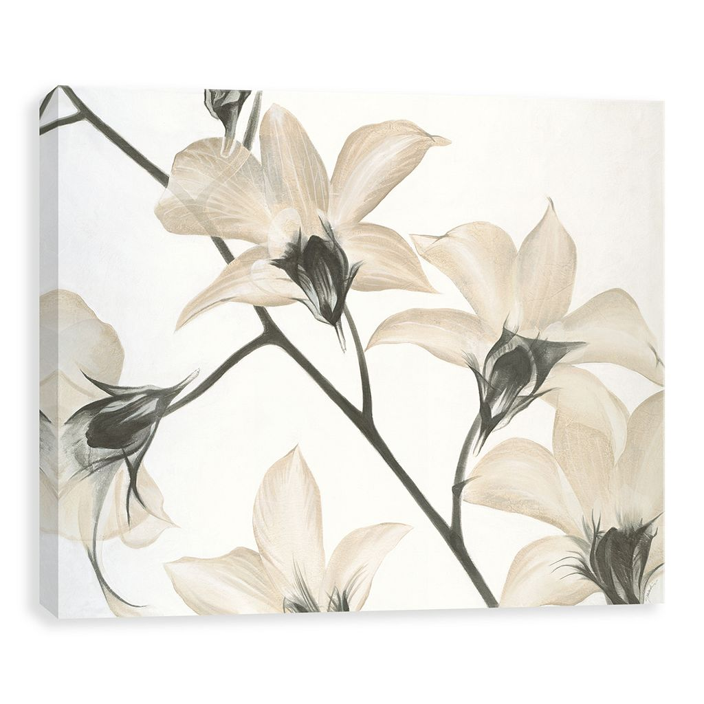Artissimo Designs Floral Strand Canvas Wall Art
