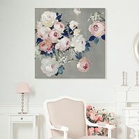 Artissimo Designs Bouquet In Blush Canvas Wall Art