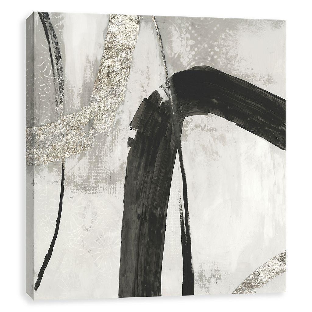Artissimo Designs Black Ink II Canvas Wall Art