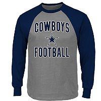 Big & Tall Dallas Cowboys Raglan Tee