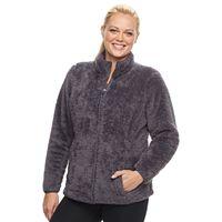 Plus Size FILA SPORT® Bari Sherpa Fleece Jacket