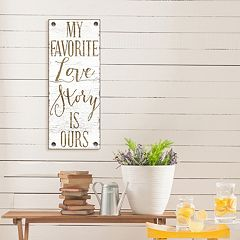 Artissimo Designs 'Love Story' Canvas Wall Art