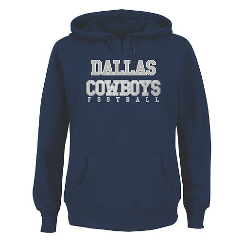 Plus Size Majestic Dallas Cowboys Football Pullover Hoodie